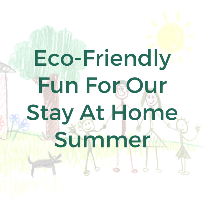 Eco-Friendly Fun For Our Stay At Home Summer