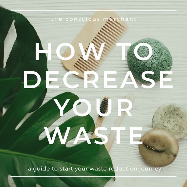 How To Start Decreasing Your Waste:  Earth Day 2020