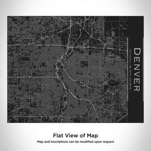 Load image into Gallery viewer, Denver City Map Bottle