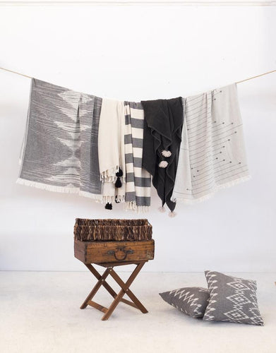 Connecting Dots Turkish Towel
