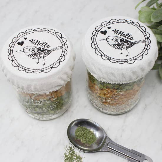 Mason Jar Cover Set