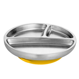 Stainless Steel Toddler Plate