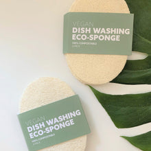 Load image into Gallery viewer, Biodegradable Eco-Sponges for Dish Washing