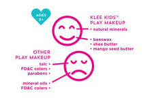 Load image into Gallery viewer, Klee Kids Natural Play Makeup 4-PC Kit
