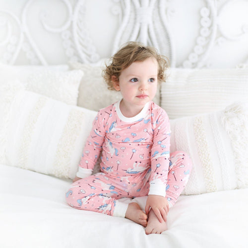 Little Sleepies Unicorn Pajama Set