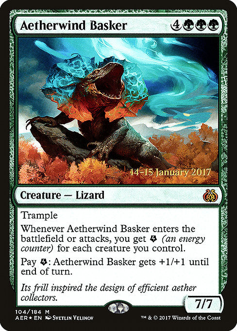 Aetherwind Basker [Aether Revolt Promos] | Lvl Up Gaming UK