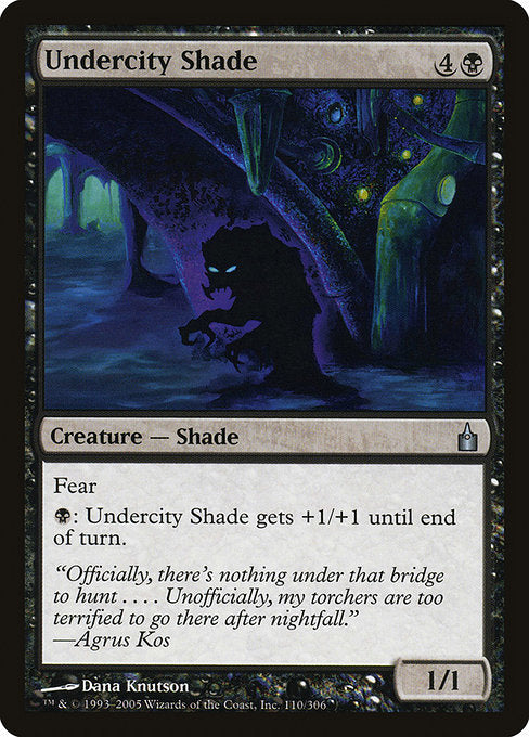 Undercity Shade [Ravnica: City of Guilds] | Lvl Up Gaming UK