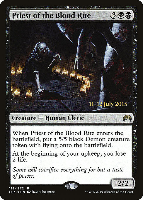 Priest of the Blood Rite [Magic Origins Promos] | Lvl Up Gaming UK