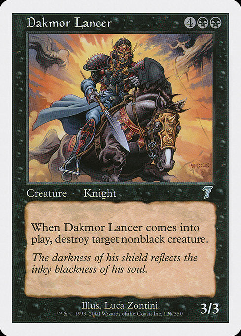 Dakmor Lancer [Seventh Edition] | Lvl Up Gaming UK