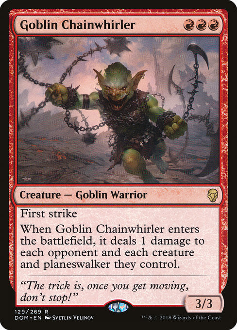 Goblin Chainwhirler [Dominaria] | Lvl Up Gaming UK