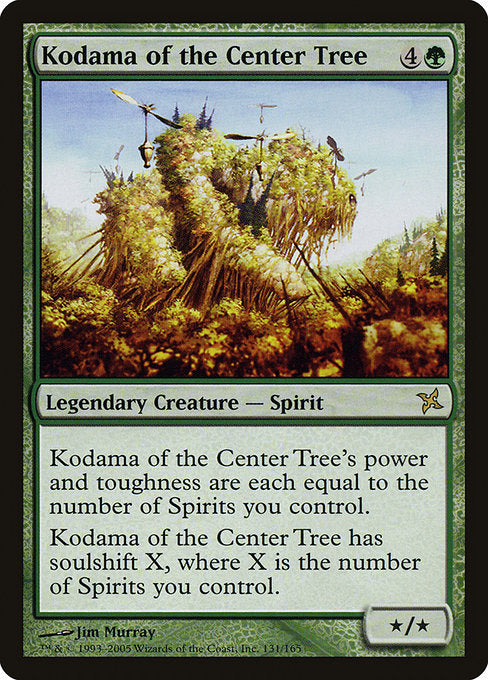 Kodama of the Center Tree [Betrayers of Kamigawa] | Lvl Up Gaming UK