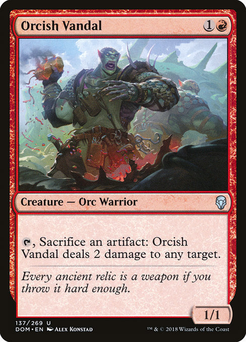 Orcish Vandal [Dominaria] | Lvl Up Gaming UK