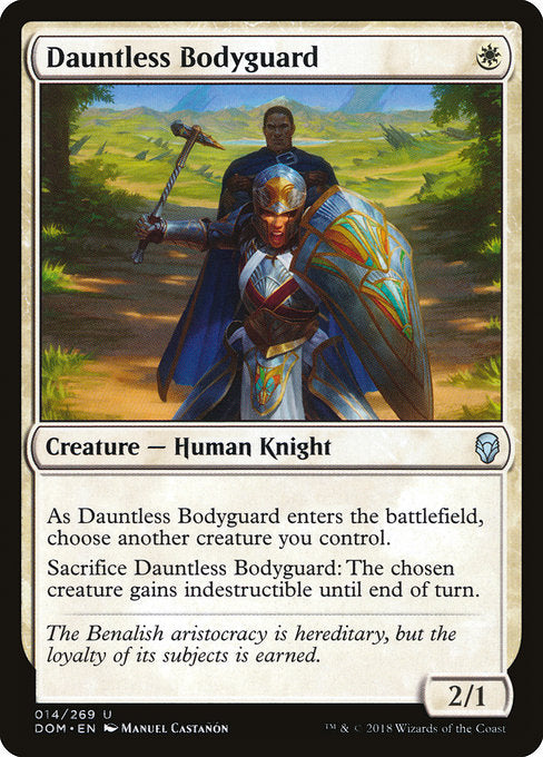 Dauntless Bodyguard [Dominaria] | Lvl Up Gaming UK