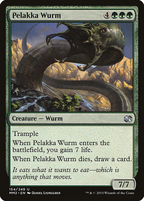 Pelakka Wurm [Modern Masters 2015] | Lvl Up Gaming UK