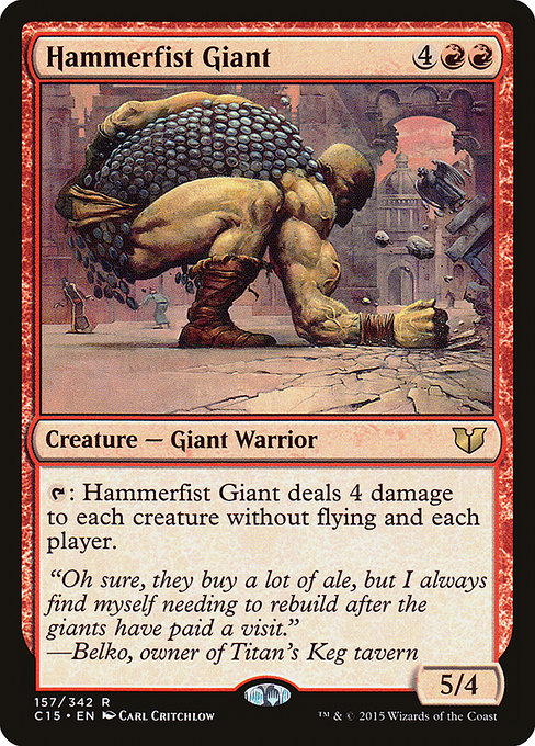 Hammerfist Giant [Commander 2015] | Lvl Up Gaming UK