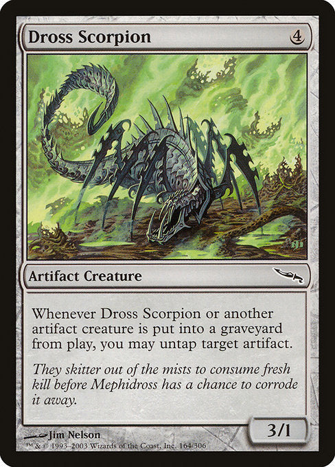 Dross Scorpion [Mirrodin] | Lvl Up Gaming UK