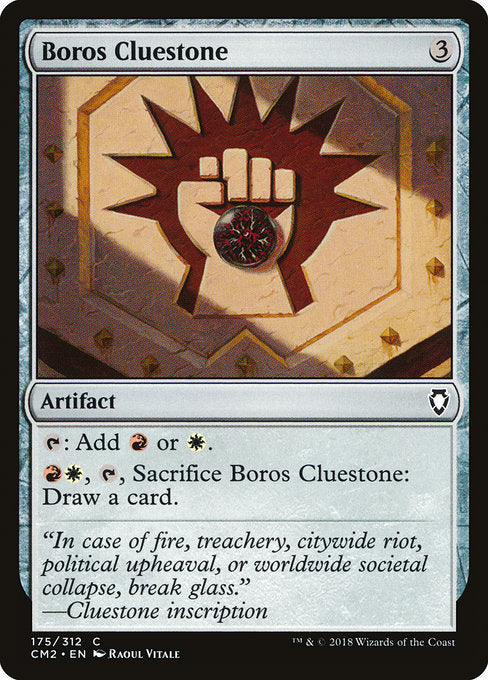 Boros Cluestone [Commander Anthology Volume II] | Lvl Up Gaming UK