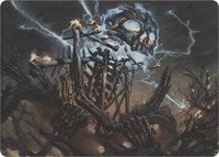 Lightning Skelemental (Art Series) [Art Series: Modern Horizons] | Lvl Up Gaming UK