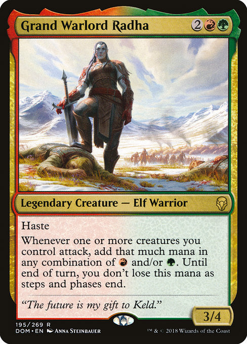 Grand Warlord Radha [Dominaria] | Lvl Up Gaming UK