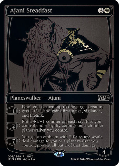 Ajani Steadfast SDCC 2014 EXCLUSIVE [San Diego Comic-Con 2014] | Lvl Up Gaming UK