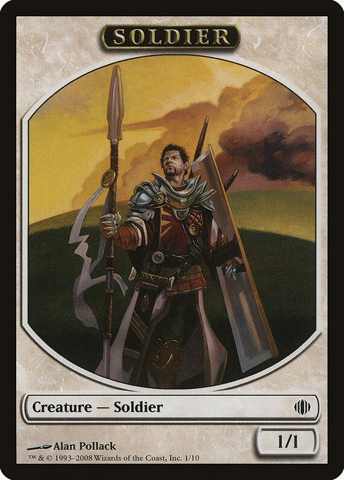 Soldier Token [Shards of Alara Tokens] | Lvl Up Gaming UK