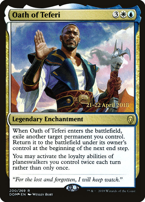 Oath of Teferi [Dominaria Promos] | Lvl Up Gaming UK