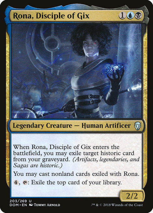 Rona, Disciple of Gix [Dominaria] | Lvl Up Gaming UK