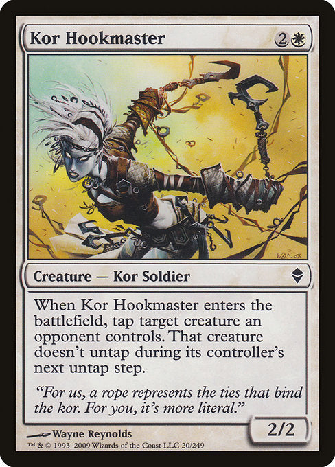 Kor Hookmaster [Zendikar] | Lvl Up Gaming UK