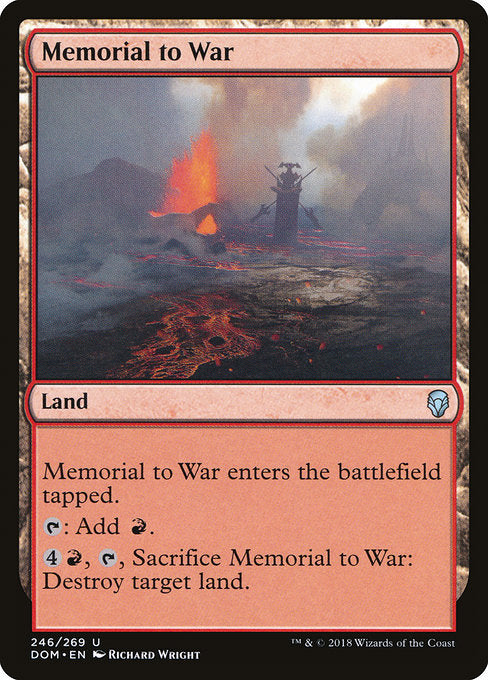 Memorial to War [Dominaria] | Lvl Up Gaming UK