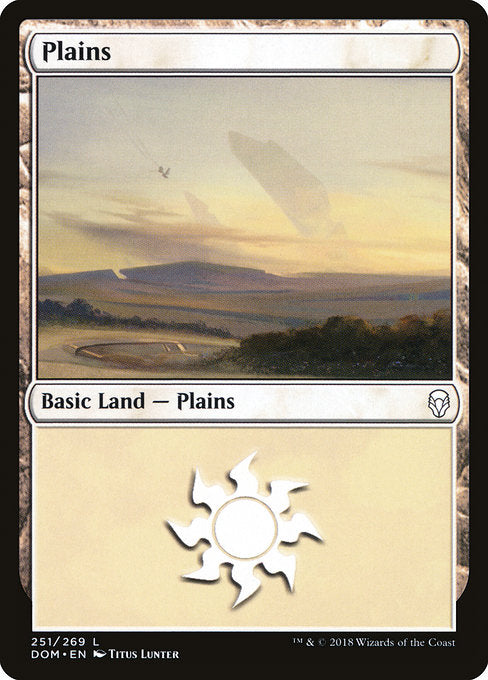 Plains (251) [Dominaria] | Lvl Up Gaming UK