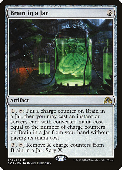 Brain in a Jar [Shadows over Innistrad] | Lvl Up Gaming UK