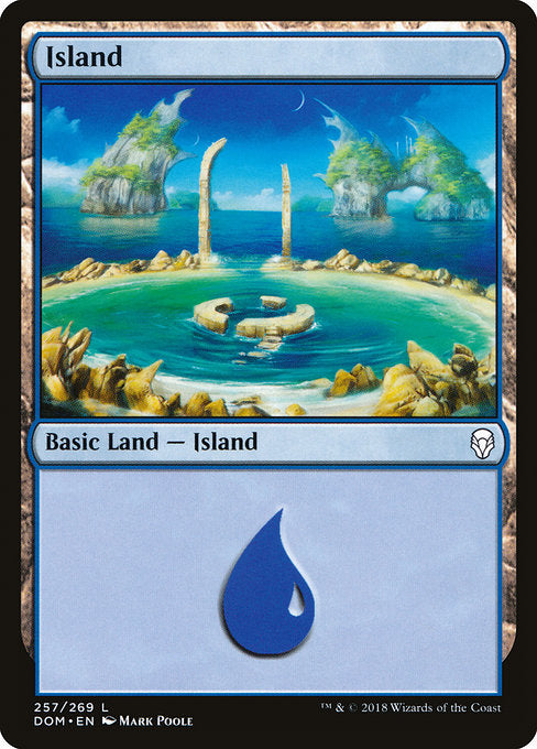 Island (257) [Dominaria] | Lvl Up Gaming UK