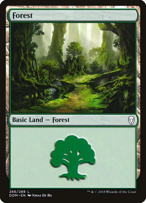 Forest (266) [Dominaria] | Lvl Up Gaming UK