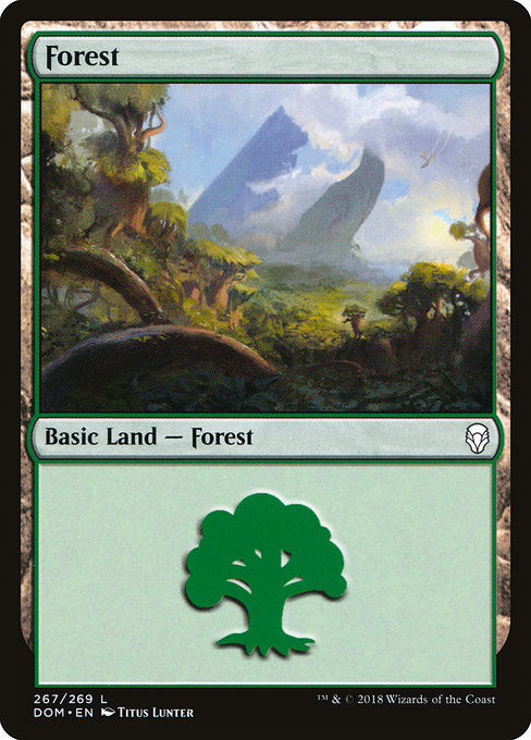 Forest (267) [Dominaria] | Lvl Up Gaming UK