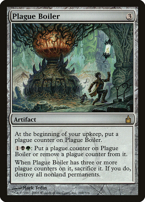 Plague Boiler [Ravnica: City of Guilds] | Lvl Up Gaming UK