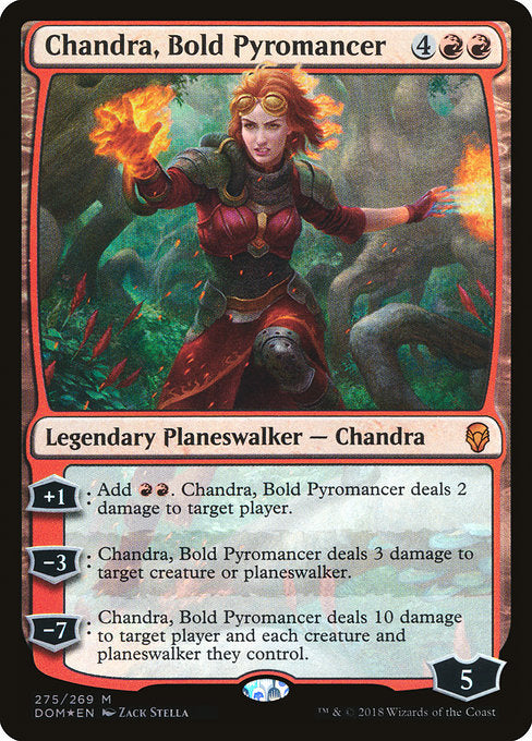 Chandra, Bold Pyromancer [Dominaria] | Lvl Up Gaming UK