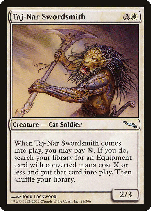 Taj-Nar Swordsmith [Mirrodin] | Lvl Up Gaming UK