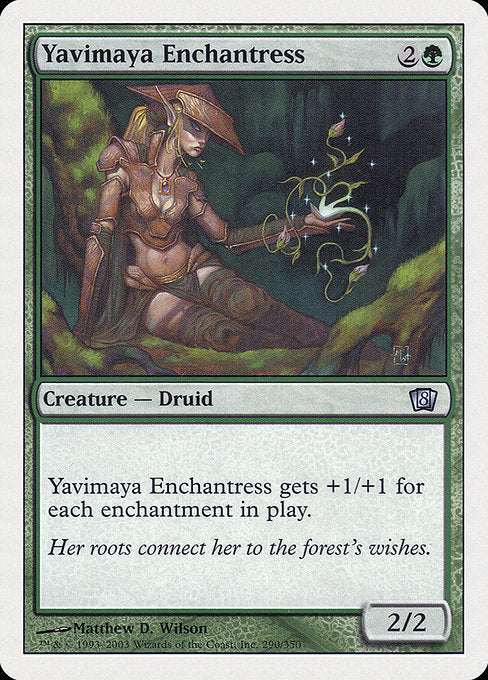 Yavimaya Enchantress [Eighth Edition] | Lvl Up Gaming UK