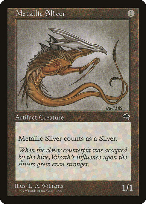 Metallic Sliver [Tempest] | Lvl Up Gaming UK