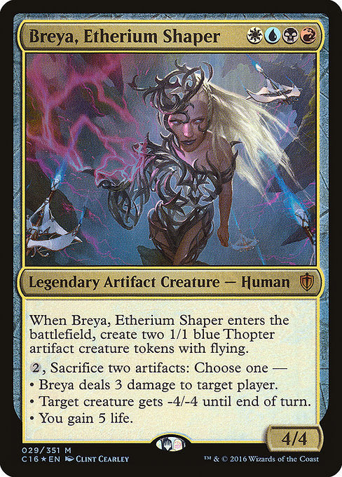 Breya, Etherium Shaper [Commander 2016] | Lvl Up Gaming UK
