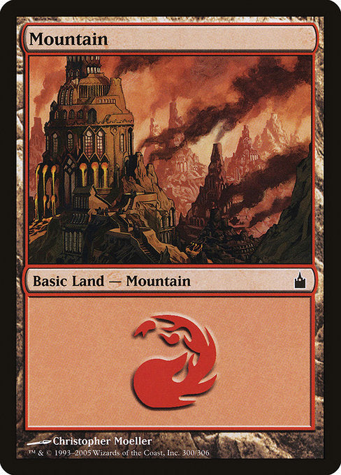 Mountain (300) [Ravnica: City of Guilds] | Lvl Up Gaming UK