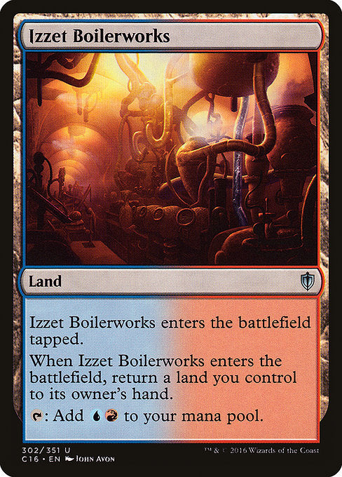 Izzet Boilerworks [Commander 2016] | Lvl Up Gaming UK