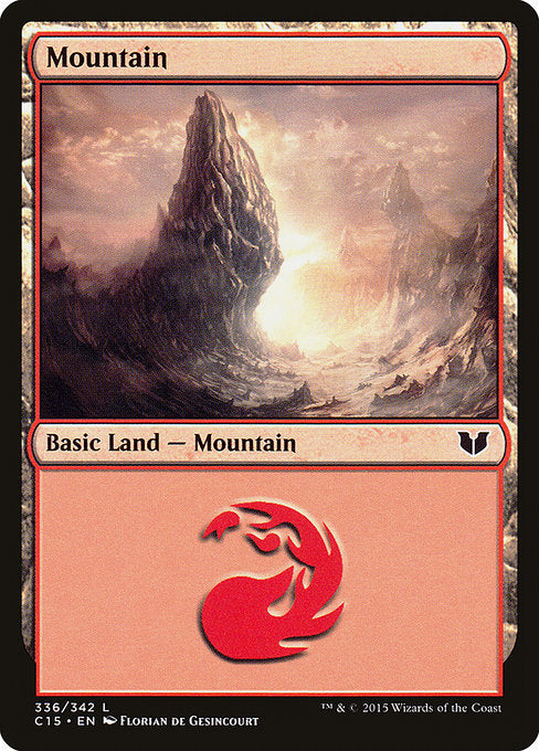 Mountain (336) [Commander 2015] | Lvl Up Gaming UK