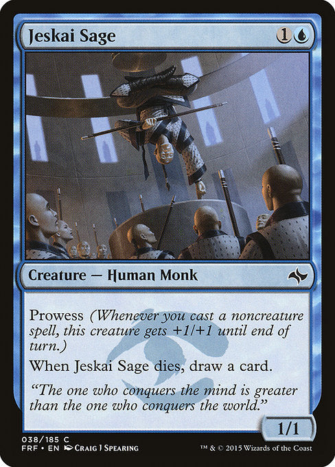 Jeskai Sage [Fate Reforged] | Lvl Up Gaming UK