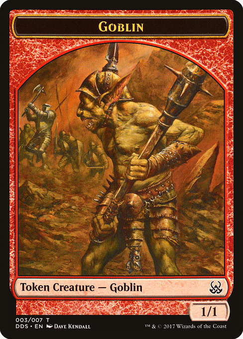 Goblin Token [Duel Decks: Mind vs. Might Tokens] | Lvl Up Gaming UK