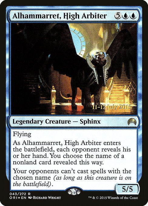 Alhammarret, High Arbiter [Magic Origins Promos] | Lvl Up Gaming UK