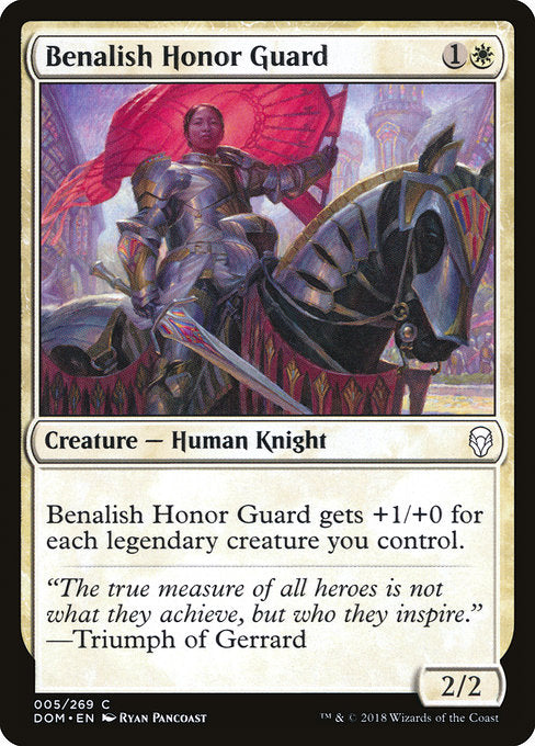 Benalish Honor Guard [Dominaria] | Lvl Up Gaming UK