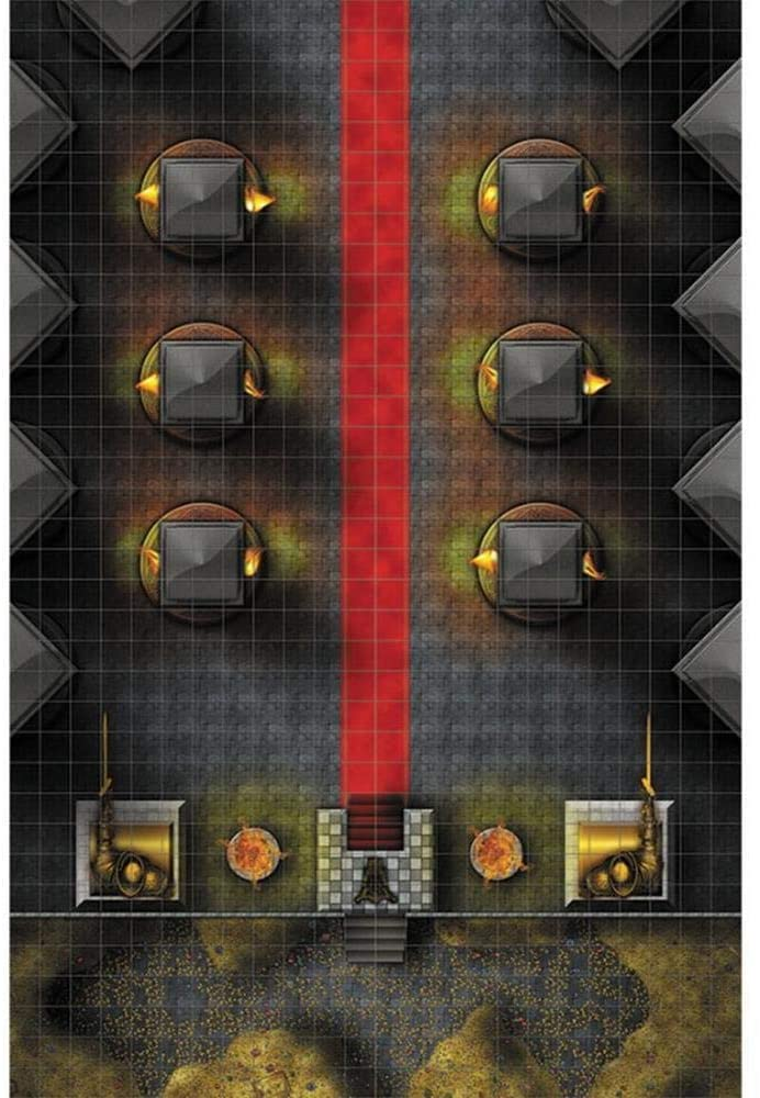 Throne Room Premium Map - WizKids RPG | Lvl Up Gaming UK