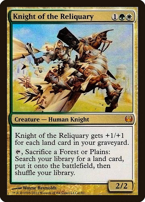 Knight of the Reliquary [Duel Decks: Knights vs. Dragons] | Lvl Up Gaming UK