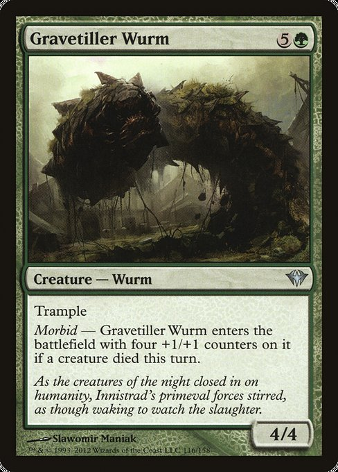 Gravetiller Wurm [Dark Ascension] | Lvl Up Gaming UK